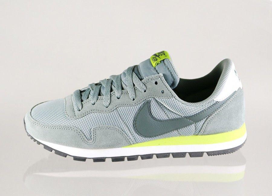 Nike Air Pegasus 83 (Mica Green / Dark Mica Green - Summit White - Venom) - Women - Sneaker | asphaltgold