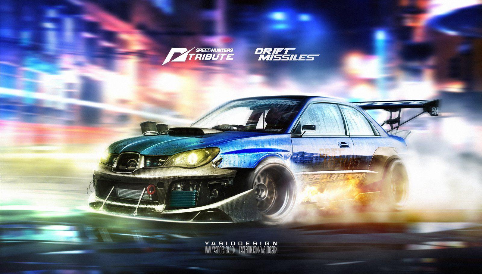 Speedhunters Subaru Impreza Sti Need For Speed Tribute Drift