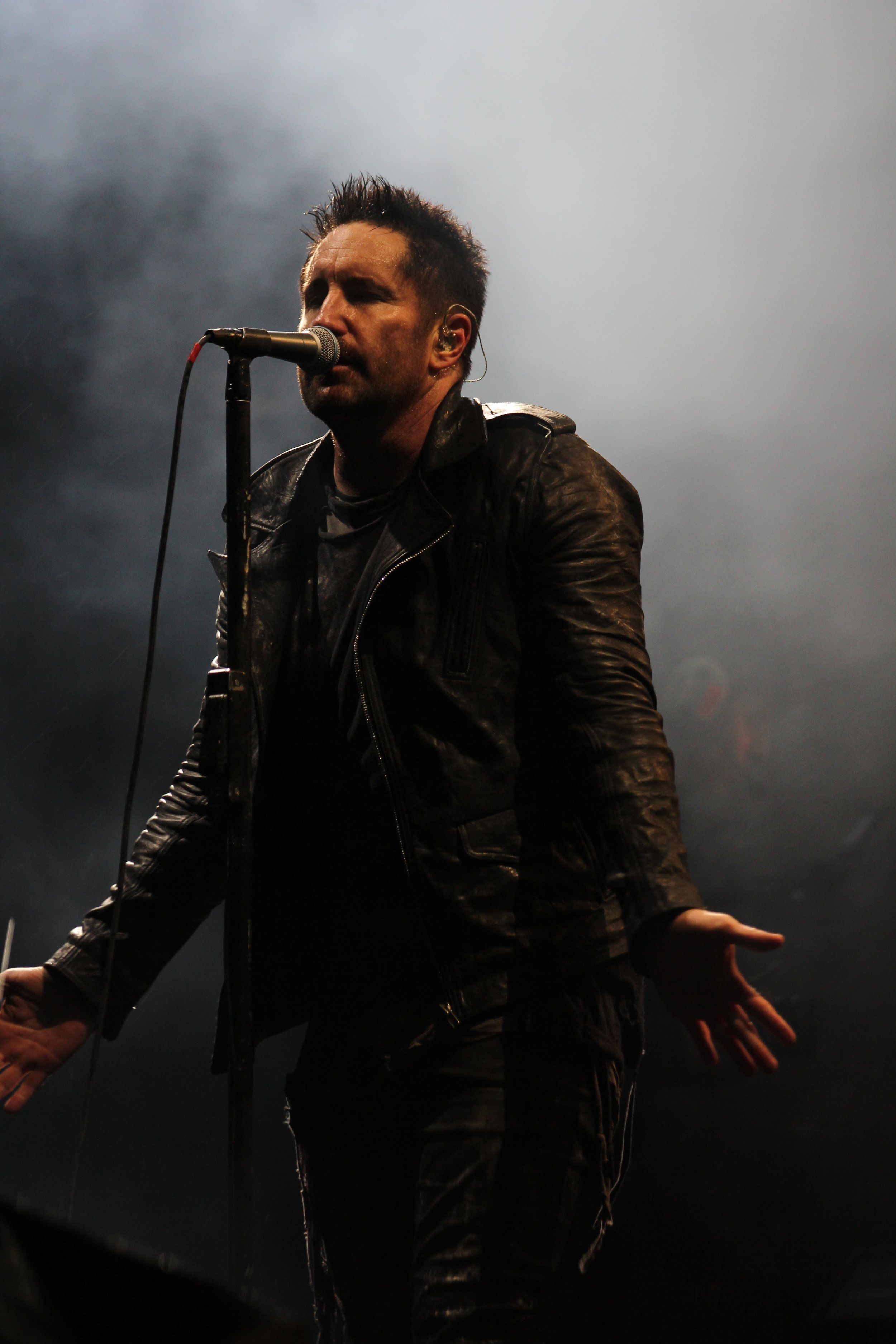 Trent Reznor / Nine Inch Nails at Day For Night Festival, Houston ...
