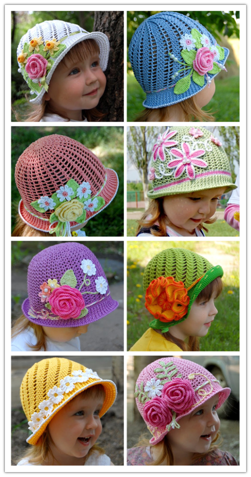Wonderful DIY Summer Crochet Panama Hats Free Pattern | DIY Tag ...