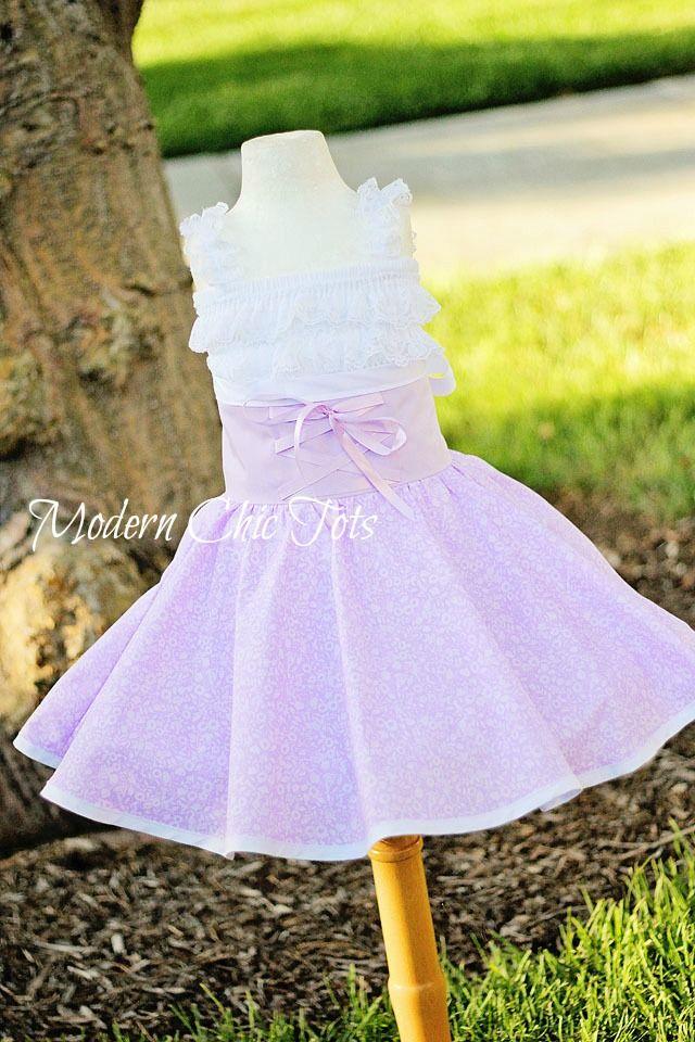 READY TO SHIP Rapunzel Single Layer Dress-Up Apron Halloween Costume