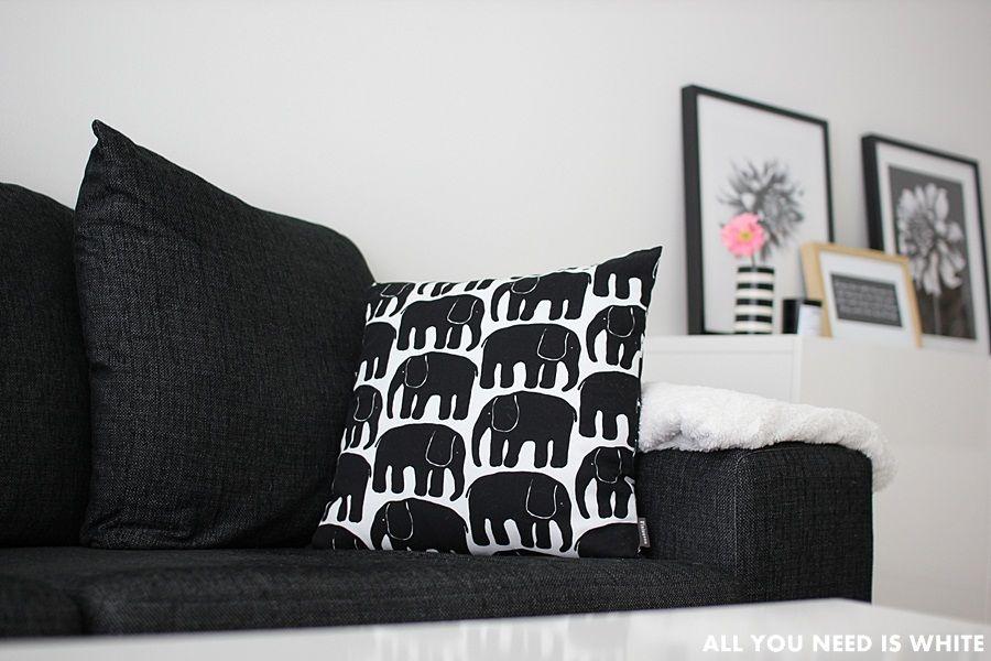 Elefantti-tyynynpäällinen