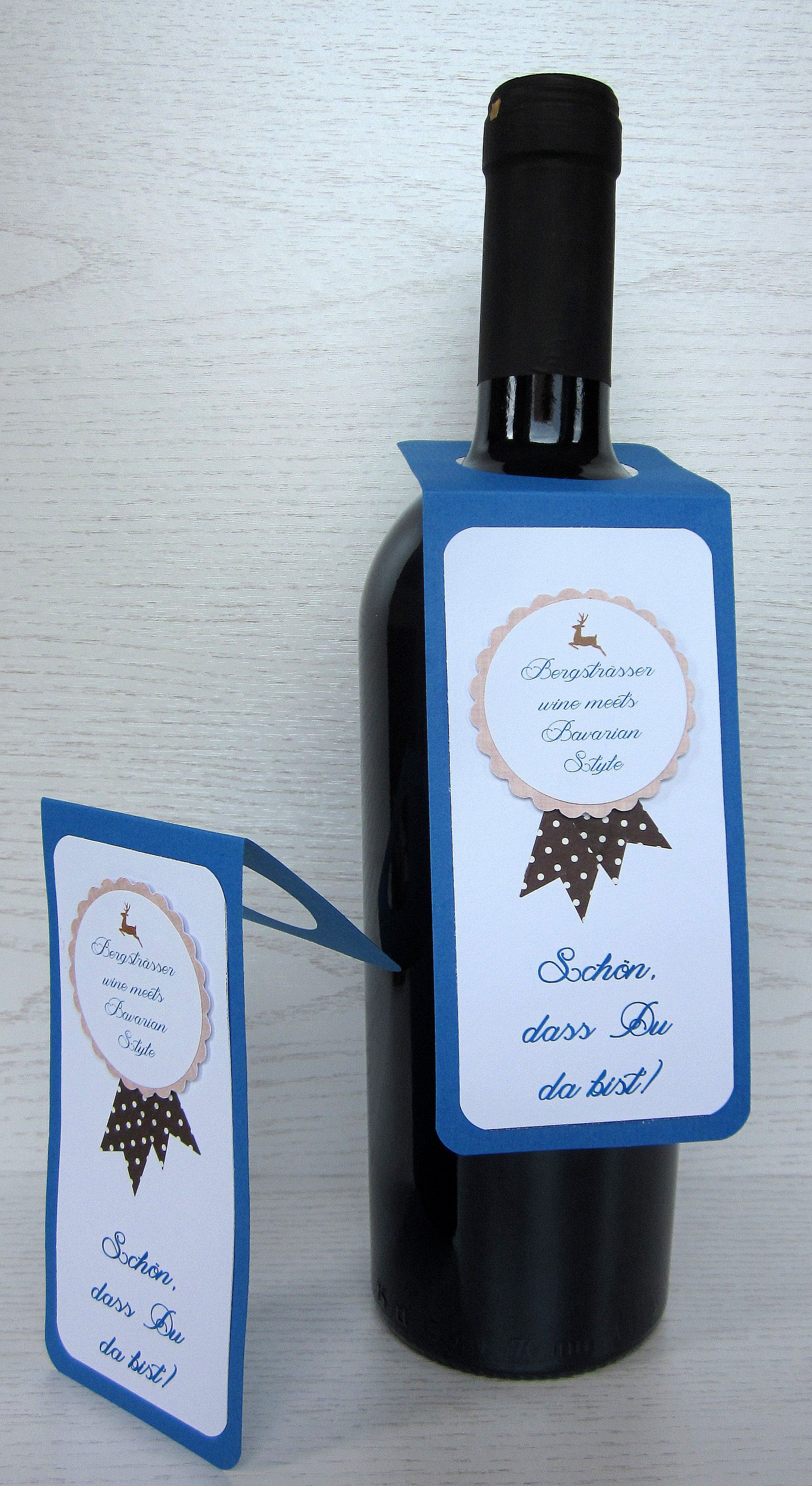 Flaschenetiketten kann man individuell gestalten. Ob für die ...