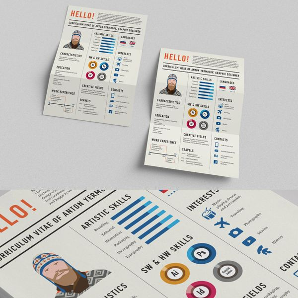 30 Outstanding Resume Designs You Wish You Thought Of Graphic - outstanding resumes