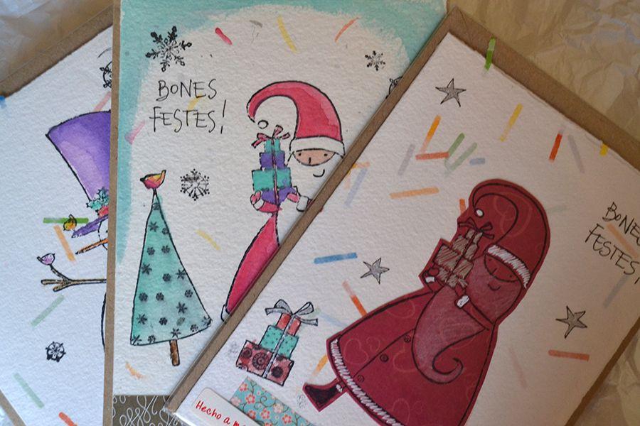 Postal de Navidad | Diseño exclusivo Art & Patch Barcelona