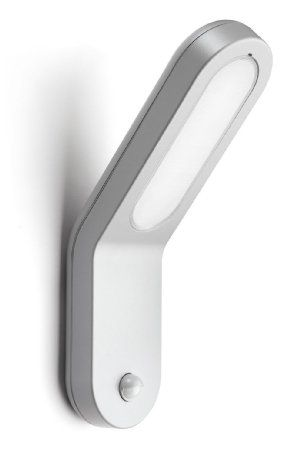 Philips Ecomoods Seabreeze Outdoor Wall Light Grey Includes 1 X 11 Watts 2g7 Bulb With Pir Motion Sensor Am Outdoor Wall Lighting Outdoor Walls Wall Lights