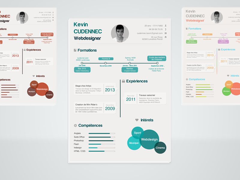 infographic resume psd infographic resume infographic and