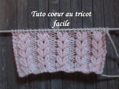 point tricot facile joli