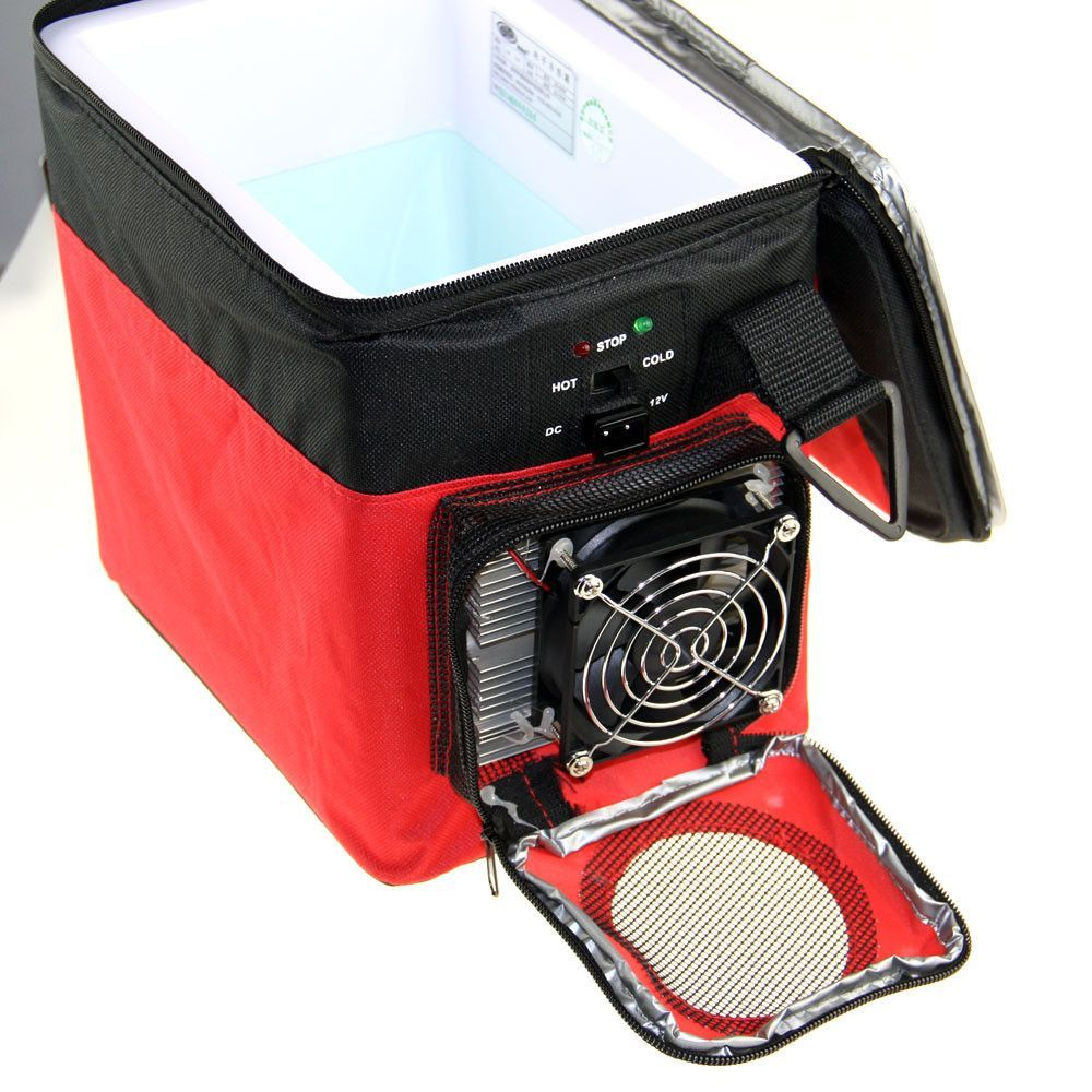 12V 6L Cooling And Heating Mini Fridge Portable Auto Car Refrigerator For  Trucks Cooler Box Freezer