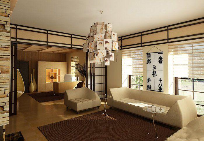 Japanische Innenarchitektur Japanisches Wohnzimmer Wohnzimmer