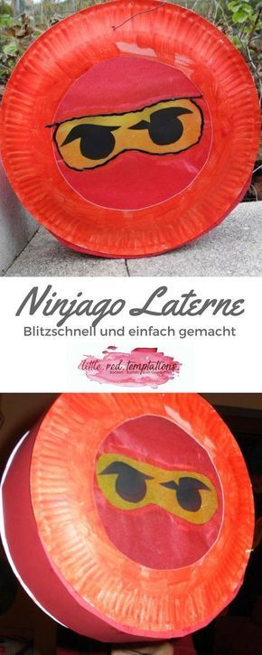Schnelle und einfache Ninjago-Laterne - little. red. temptations. #laternebasteln
