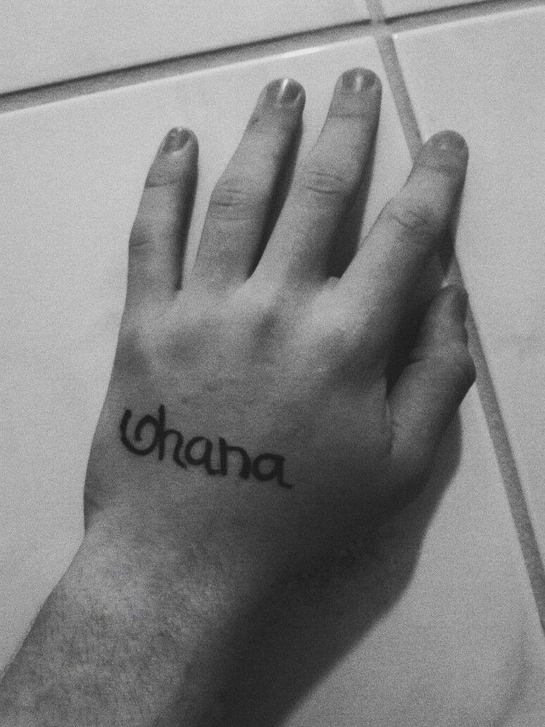 Tatuagem ohana imagens) Tatuagem ohana, Tatuagem