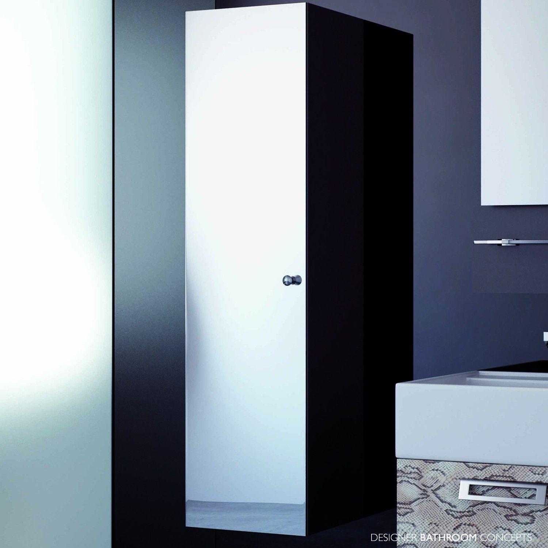 Hoch Verspiegelten Badezimmerschrank Hoch Gespiegelt Badezimmer