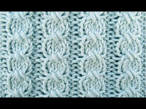 Photo of Knitting pattern * braid without auxiliary needle *