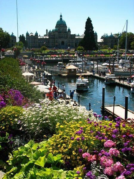 Victoria on Vancouver island...