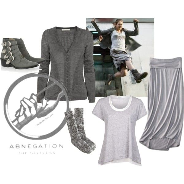 """Divergent: Tris Costume (Abnegation)"" on Polyvore ..."