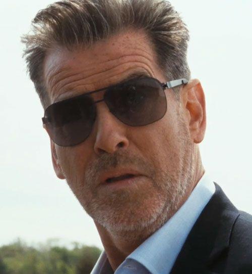 b004573043e80 Pierce Brosnan sporting the Mykita ROLF sunglasses in the film Salvation  Boulevard