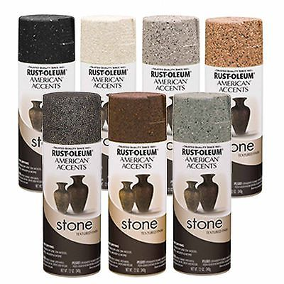 Rust Oleum American Accents Stone Textured Spray Paint Vases Pots Black Granite Spray Paint Vases Painted Countertops Diy Textured Spray Paint