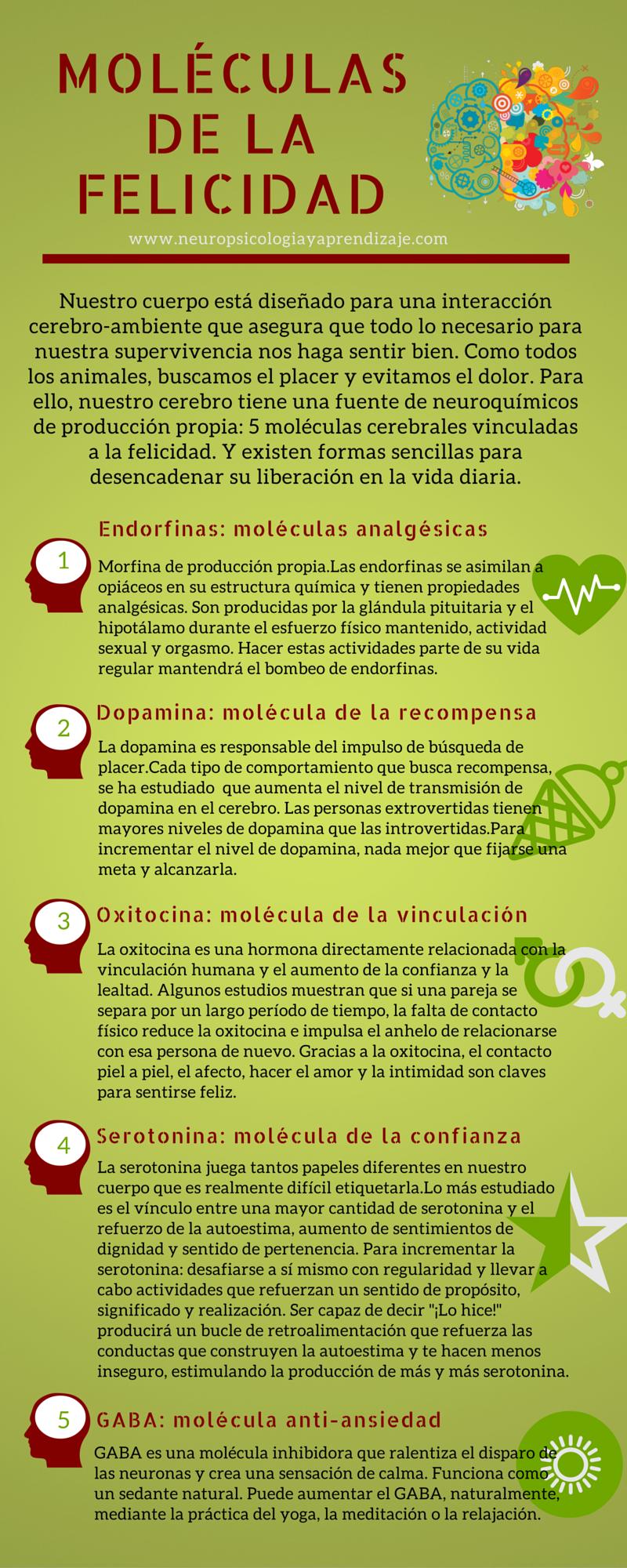 Moléculas De La Felicidad Salud Sinonimo De Belleza
