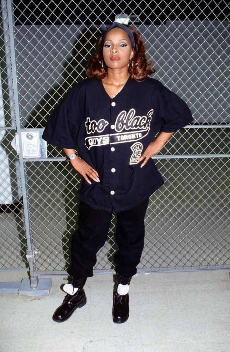 mary j blige 90s  buscar con google  hip hop outfits