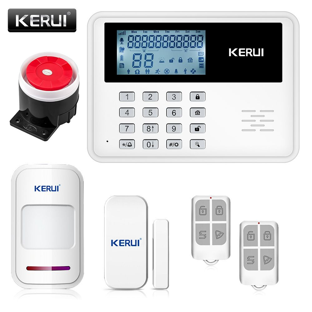 Iphone wireless home security system wire center 2017 kerui 5900g intelligent android ios app remote control wireless rh pinterest com outdoor wireless security camera system wireless camera home security solutioingenieria Image collections