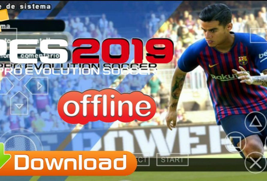 PES 2019 ISO PPSSPP Download For Android | APK MOD GAme | Android