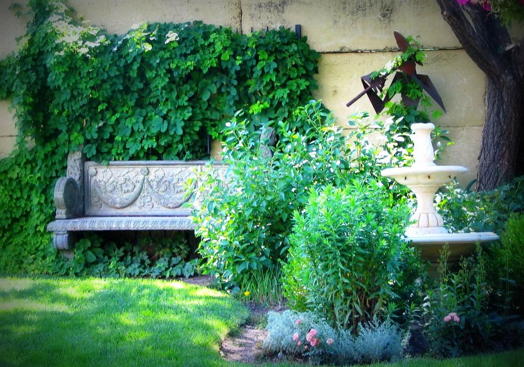 Lovely Setting At Hillside Garden Nursery Colorado Springs Co