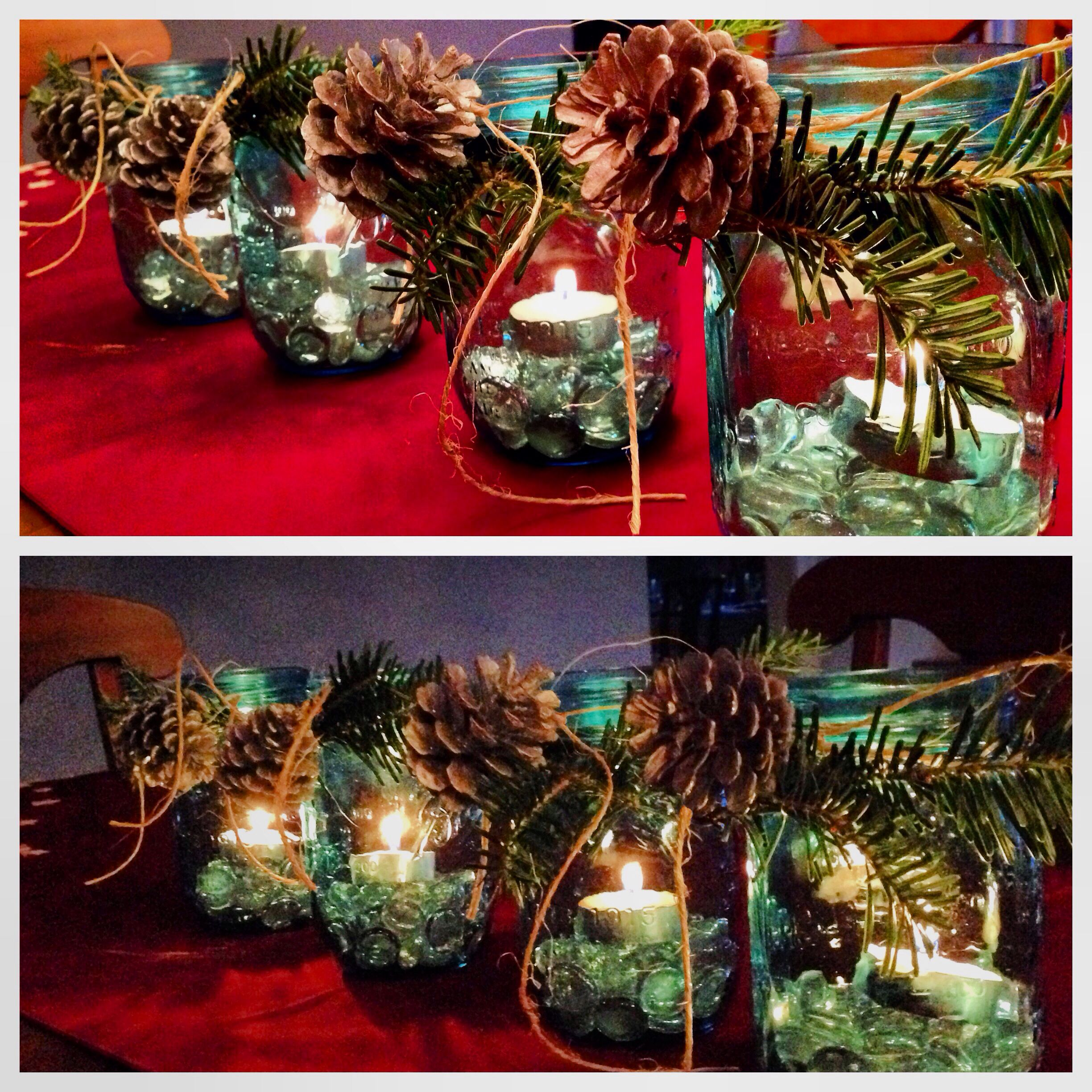 Mason Jar Christmas Decorations: Mason Jar Christmas Decorations