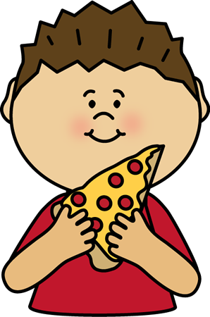 boy eating pizza postacie do opisania pinterest pizzas clip rh pinterest com clipart taking a test clip art eating cake pictures