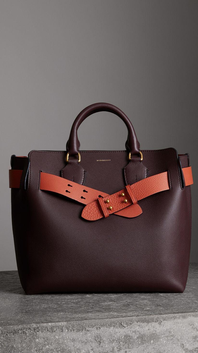 4a73fdb26b46 The Medium Leather Belt Bag in Deep Claret - Women