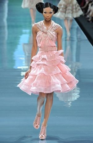 Sooo Lovin This Amazing Dior Haute Couture Pink Dress The