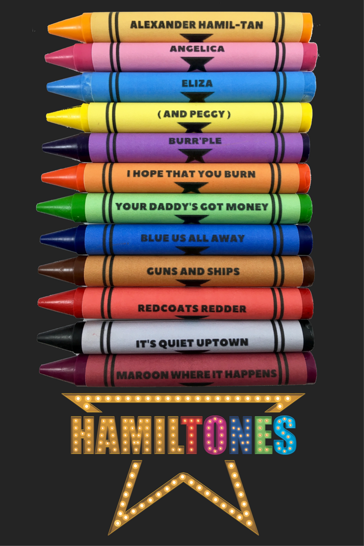 Design your own t-shirt hamilton - Hamilton Crayons