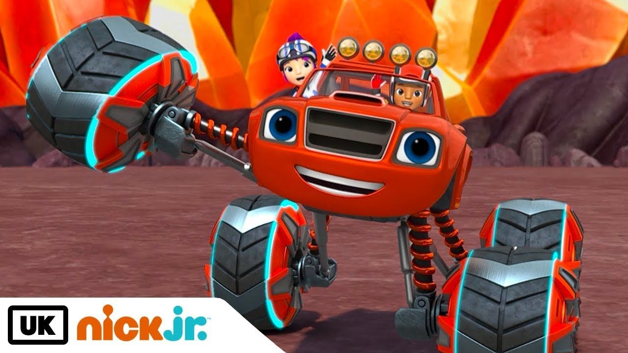 Blaze And The Monster Machines Power Tyres Nick Jr Uk