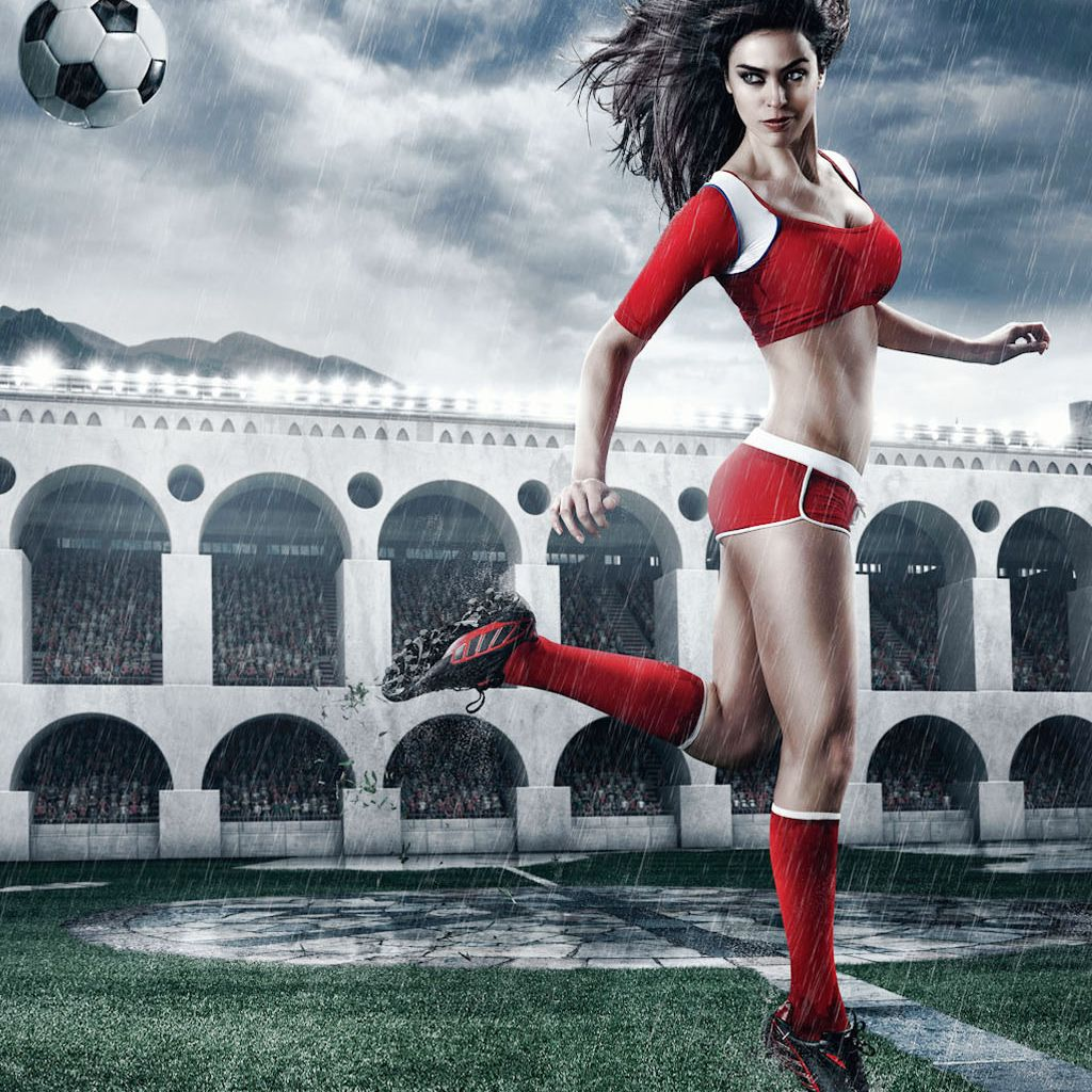 Sexy football girls, black dom bisexual