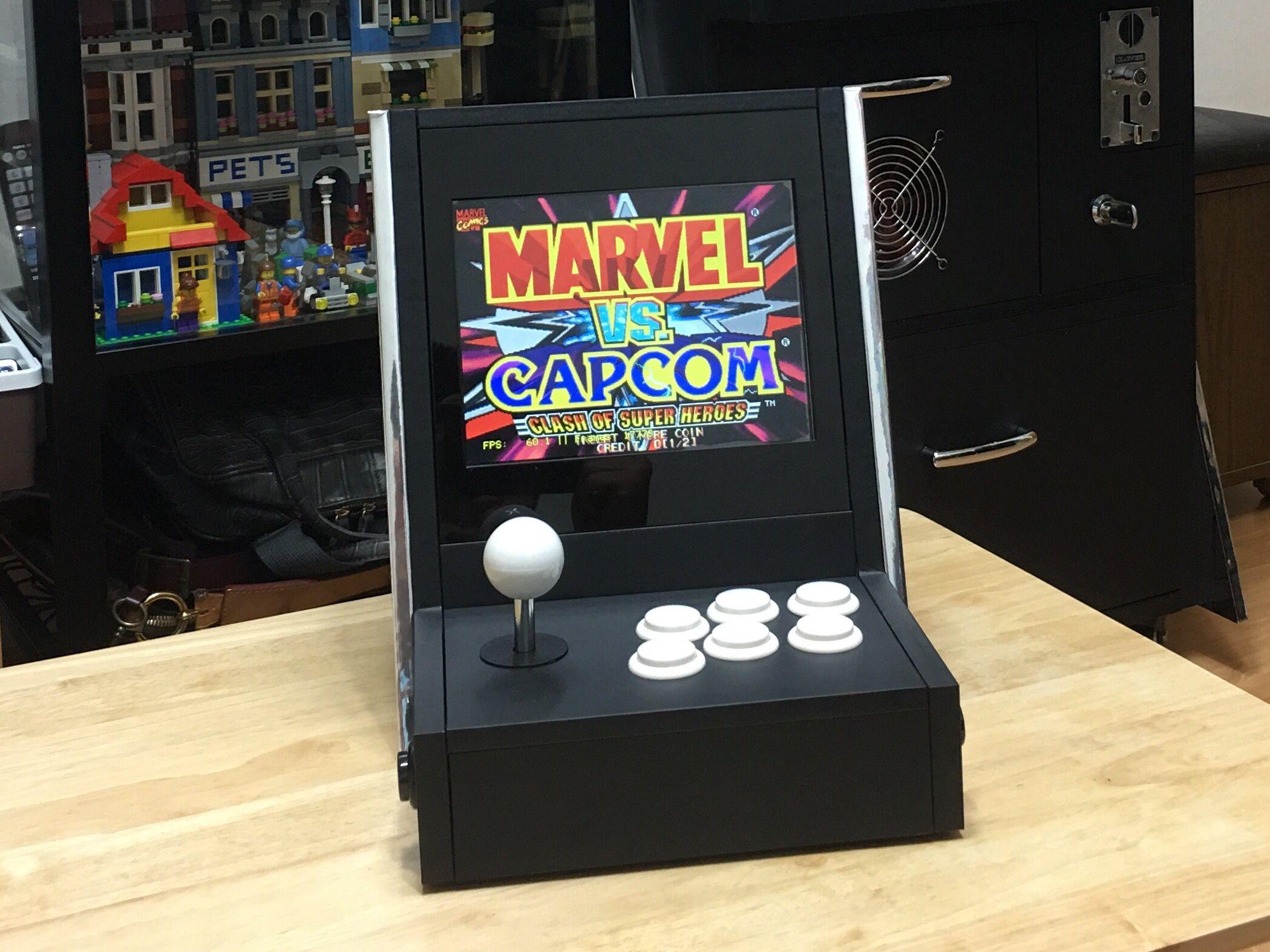 DIY bartop arcade | My DIY arcade | Arcade games, Arcade