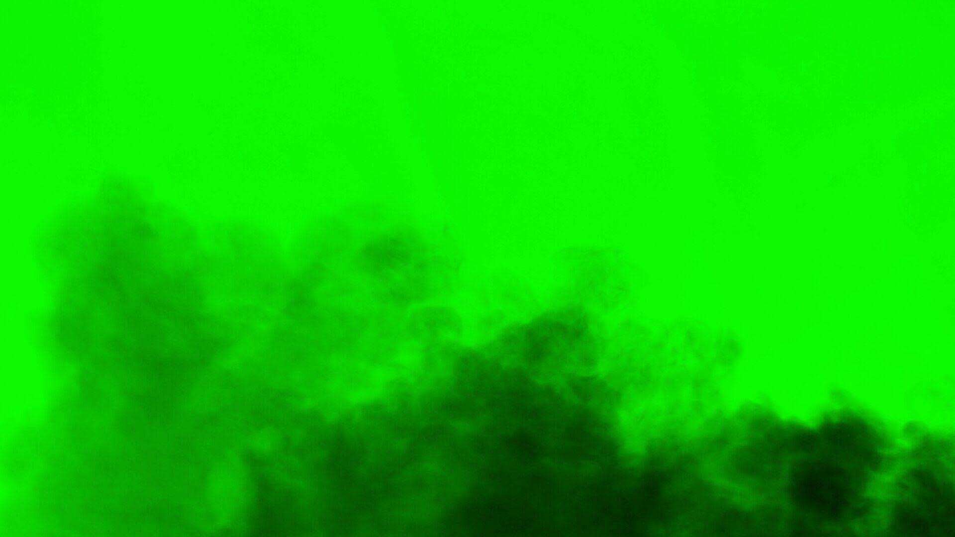 Black Smoke Dust Wave C Green Screen Greenscreen Green Background Video Green Screen Photo