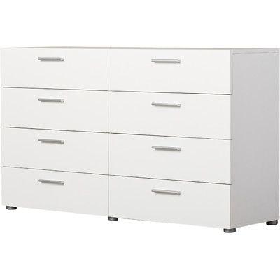 Corrigan Studio Bayonne Bedroom 8 Drawer Dresser Reviews Wayfair