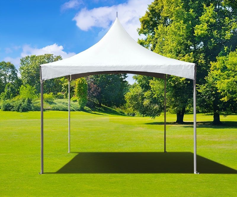 10 X 10 High Peak Frame Party Tent White Party Tent Tent Canopy Outdoor