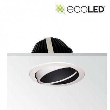 newest collection 13768 7271b EcoLED ZEP1 10W Downlight Adjustable Darklight   Lighting ...