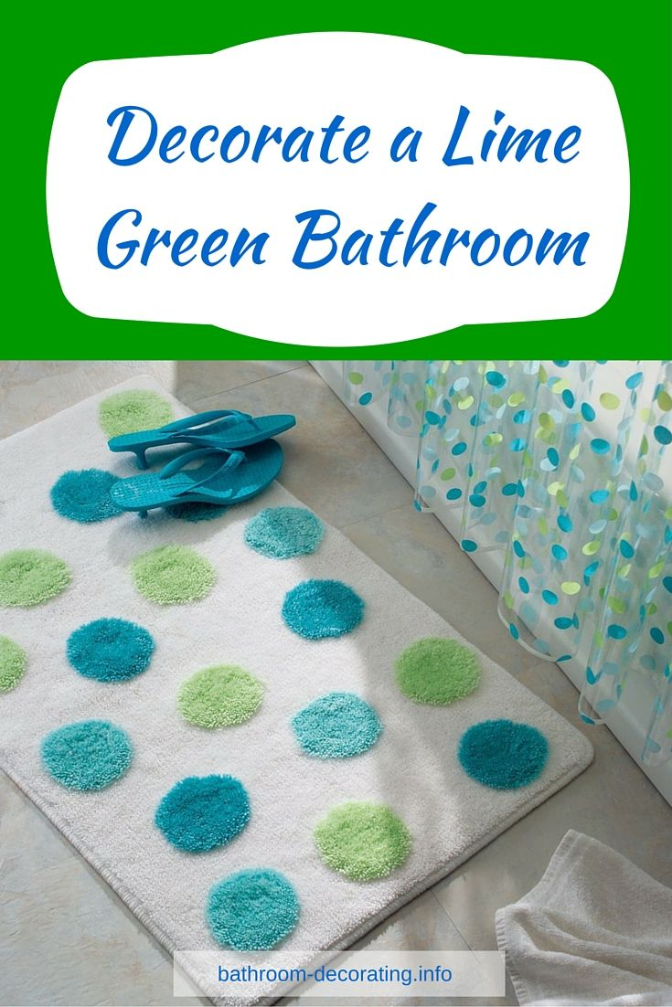 do you like lime green fancy a lime green bathroom well here are some - Lime Green Bath Decor
