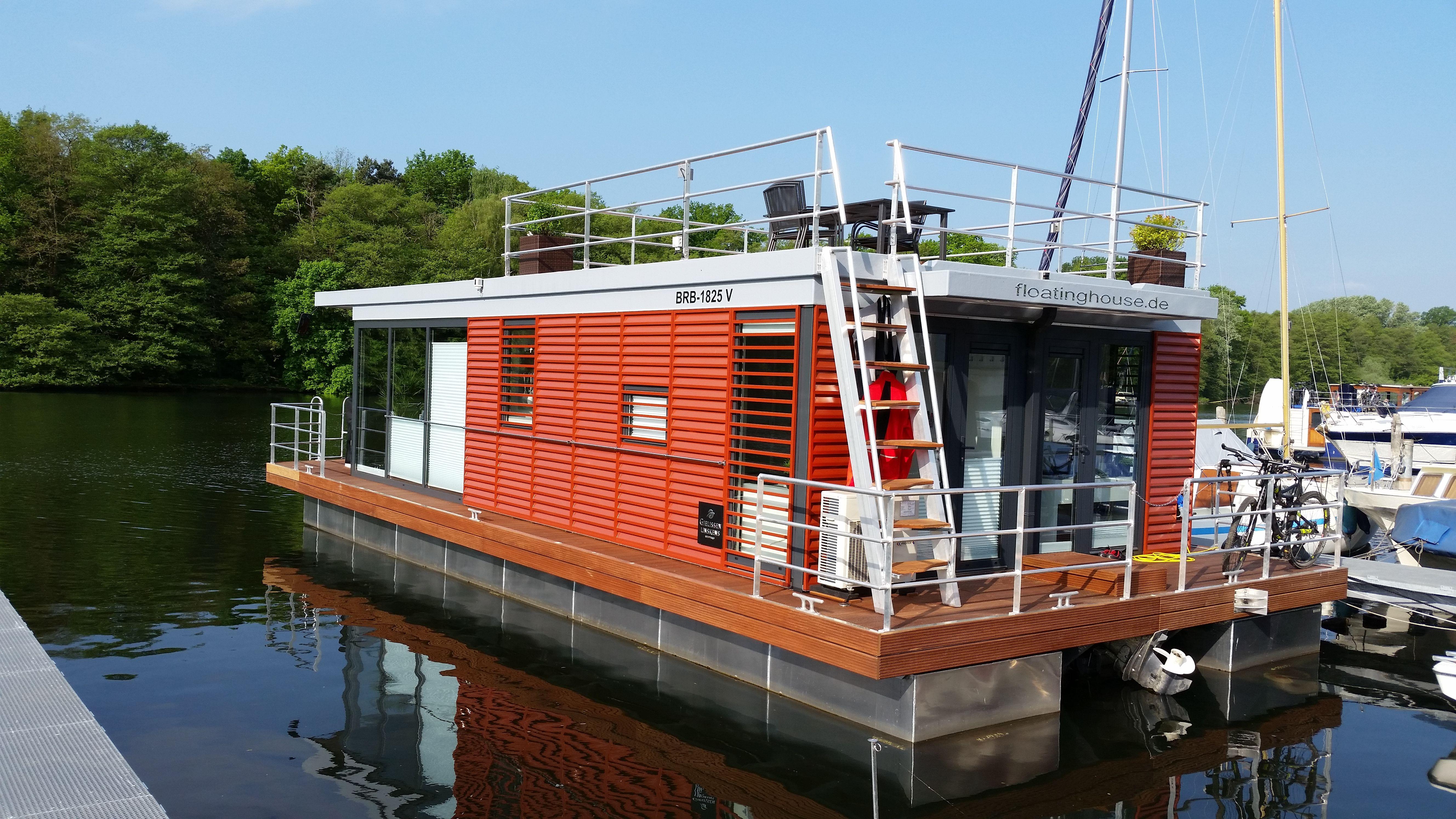 Pin Von Fhg Floating House Gmbh Auf Food And Drink Schwimmende Hauser Hausboot Hausboot Kaufen
