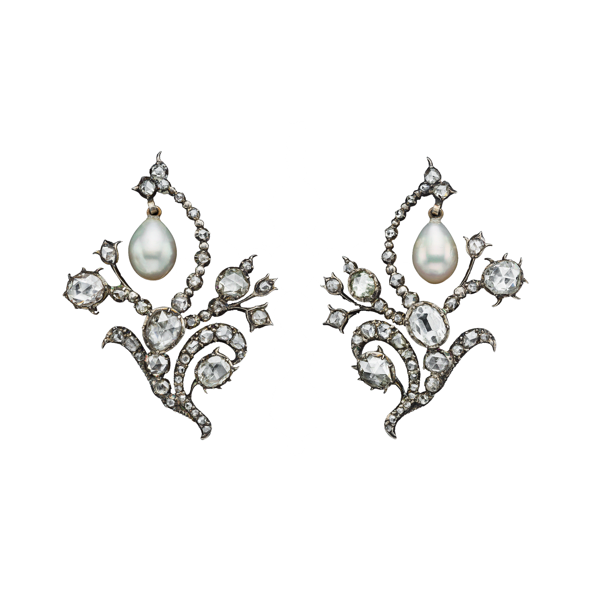 0cf9f7858 Russian Crown Jewels, Pearl and Diamond Spray Brooches « ALBION ART Gems  Jewelry, Pearl