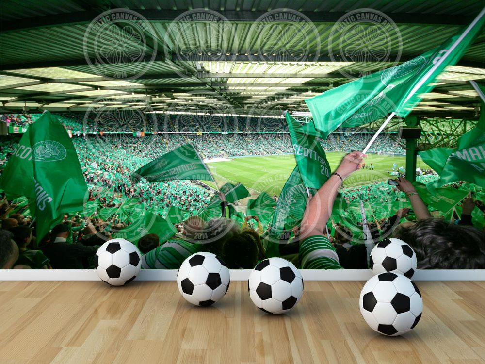Ordinaire New Mural Picture Celtic Fc Amazing #CeltsAtHome Celtic Fc, Wall Murals,  Football Bedroom