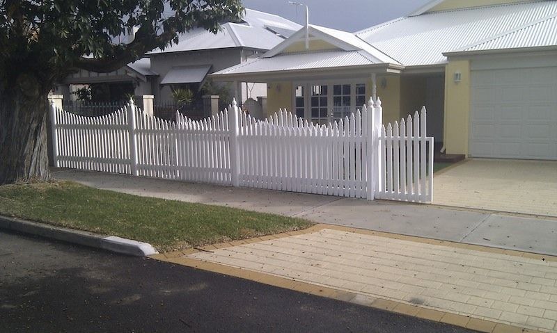 Picket Fence Fence Gate Timber Fencing Gate