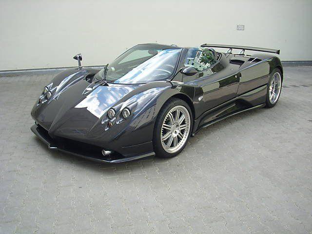 Pagani Zonda F Clubsport Roadster. Only 25 made | Pagani Huayra And