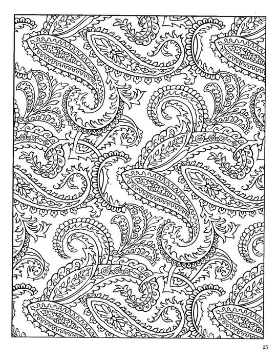 paisley Coloring Pages   ... _Paisley_Designs_Coloring_Book__ ...