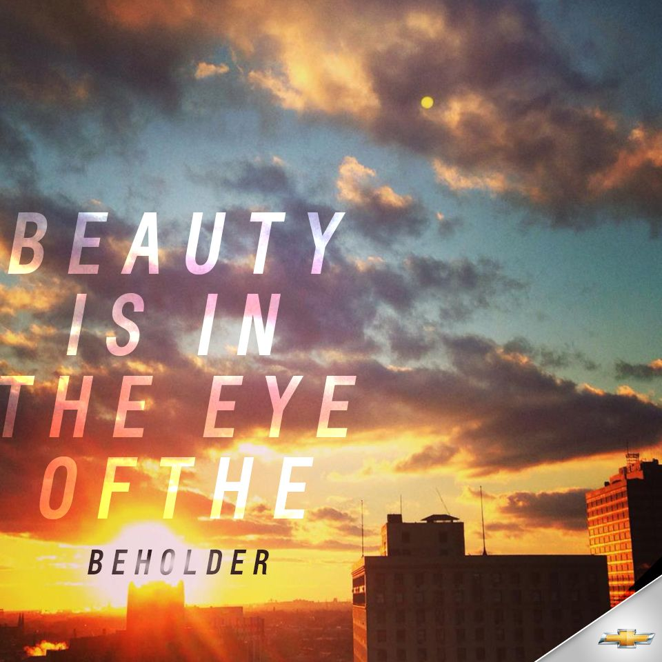 Beauty Is In The Eye Of The Beholder Quotes Novistars Sila Clops