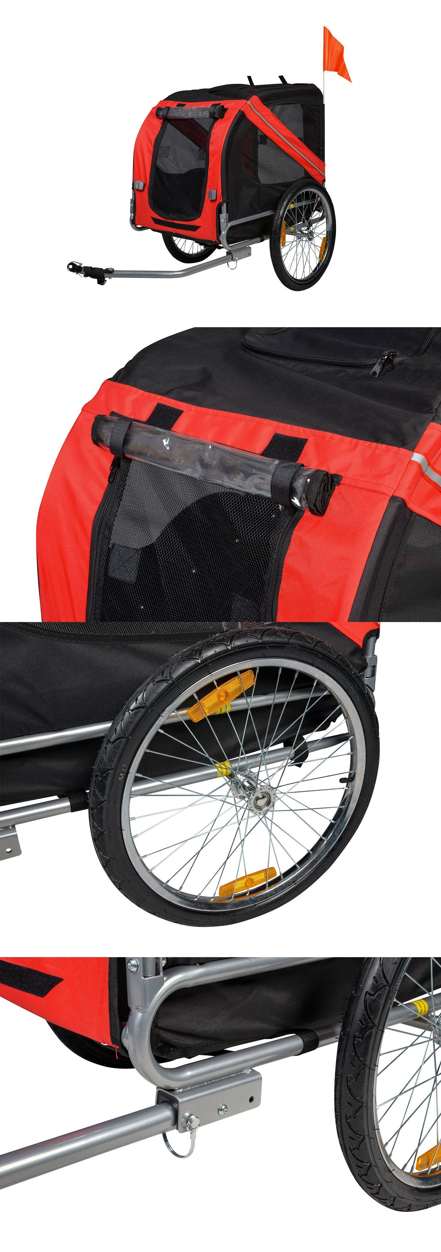 Bike Baskets and Trailers Dog Bike Trailer Pet Cat Bicycle
