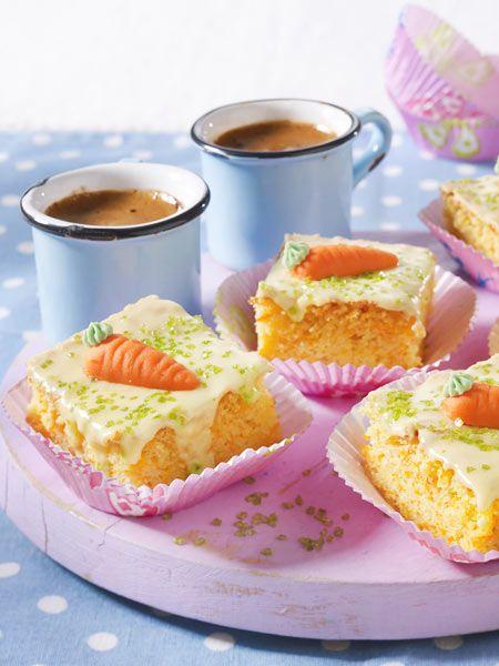 Mohren Mandel Blechkuchen Mit Zitronenguss Rezept Arbeit