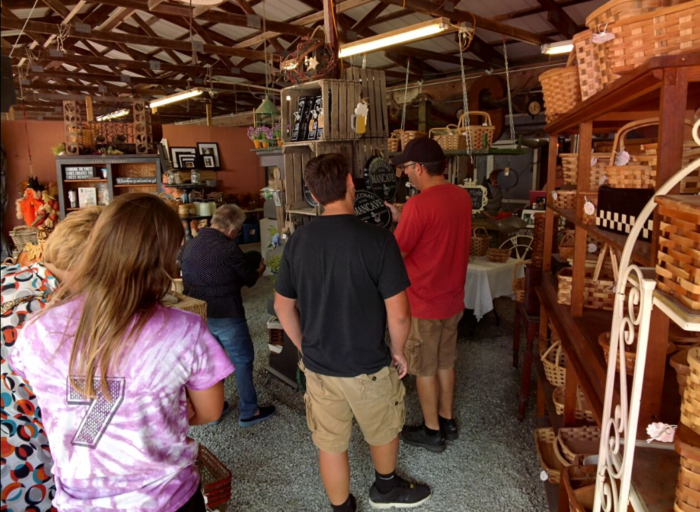 Shop For Goods At Windmill Farm and Craft Market